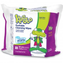 100 Pack Magic Melon Flushable Wipes