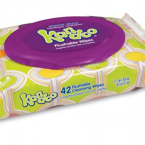 42 Ct Sensitive Flushable Wipes Nehemiah Brands Shop