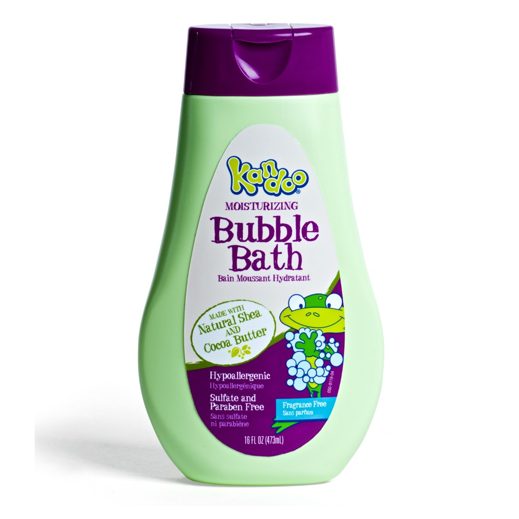 Kandoo Fragrance Free Bubble Bath