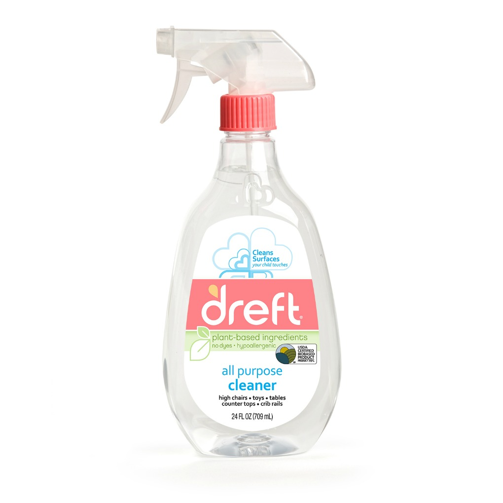 Dreft All Purpose Cleaner spray bottle front