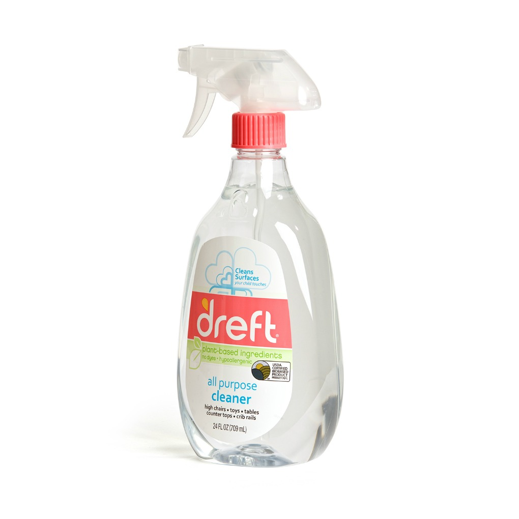 Dreft All Purpose Cleaner spray bottle turn