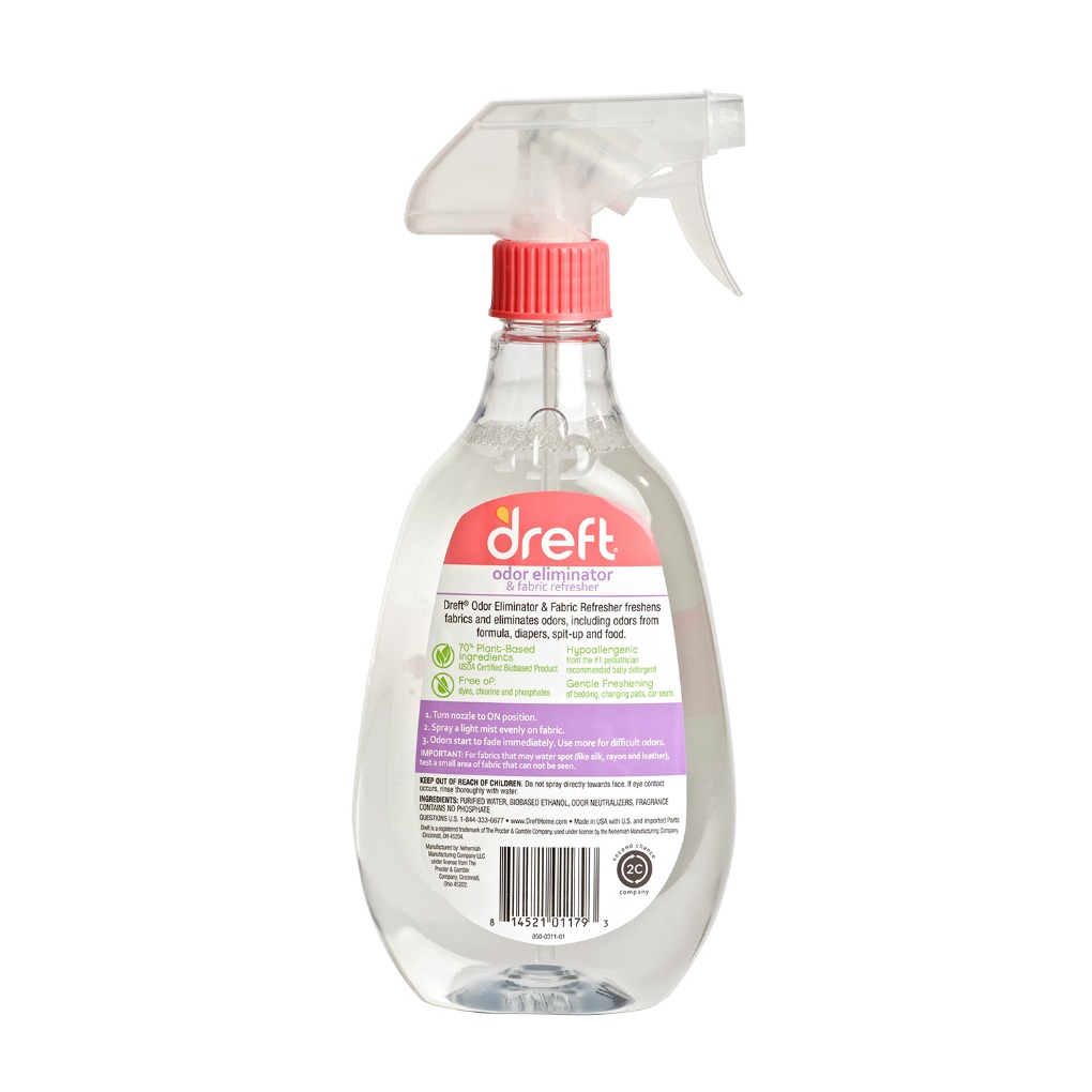 Dreft Odor Eliminator Back