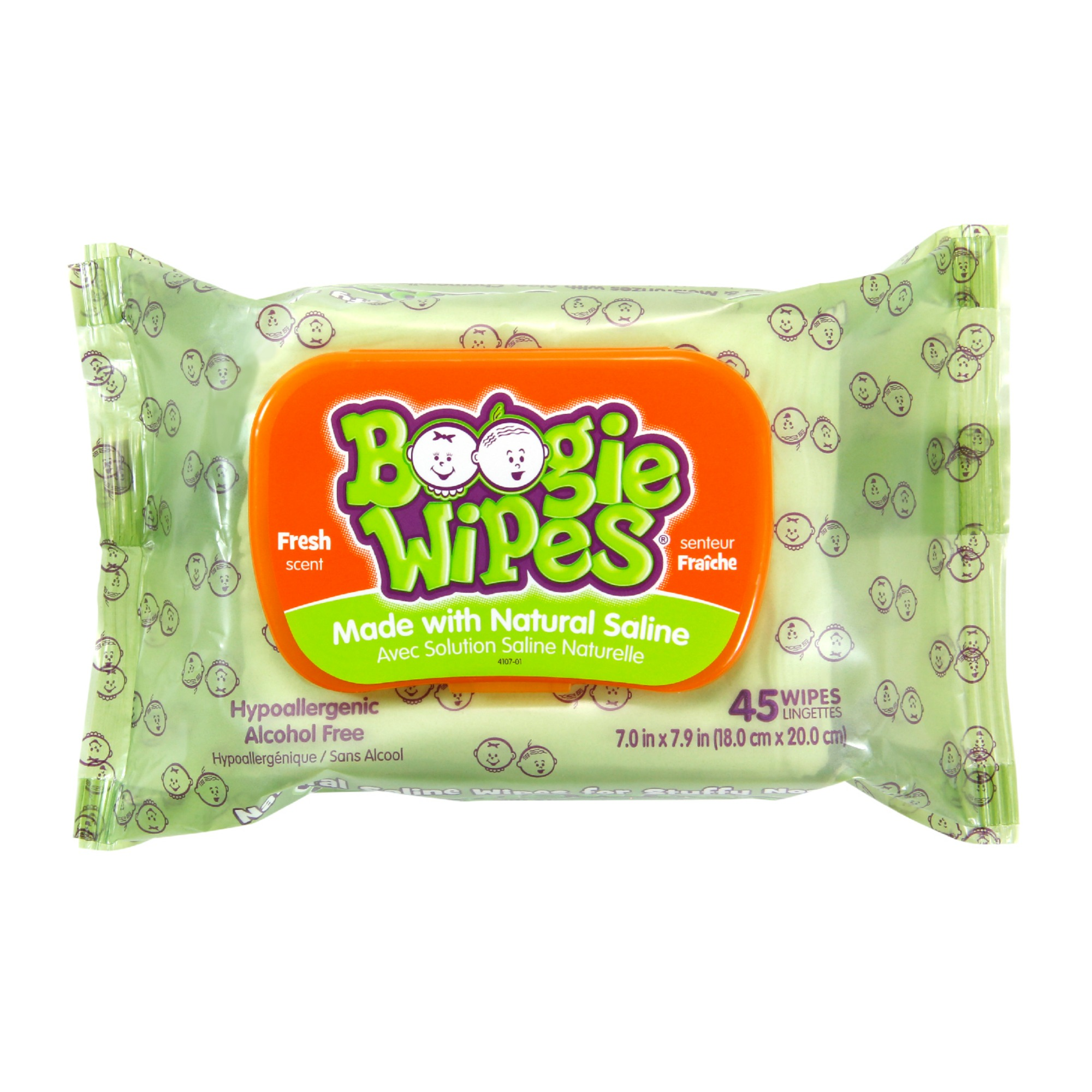 Boogie Wipes fresh scent 45 count pack