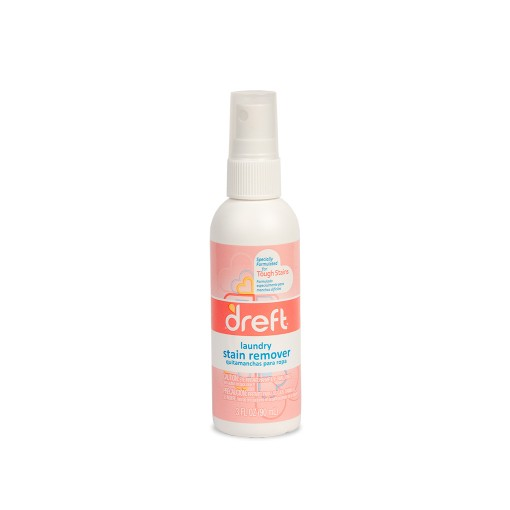 Dreft laundry strain remover spray bottle
