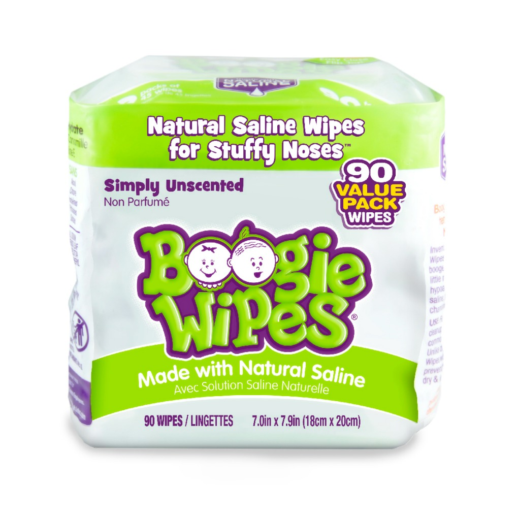 Boogie Wipes unscented 90 count value pack