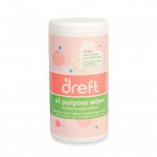 Dreft gentle clean all purpose wipes 70 count